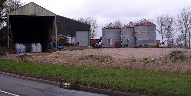 Farm Buildings at Benedict Farm