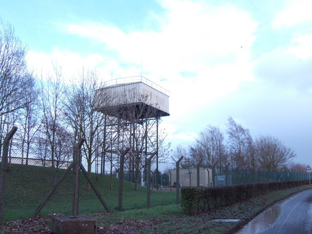 Water tower on Horcott Hill