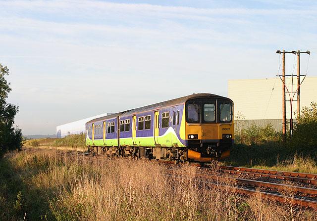 Railway near Kempston Hardwick