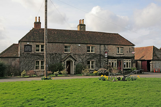 The Northbrook Arms pub, East Stratton
