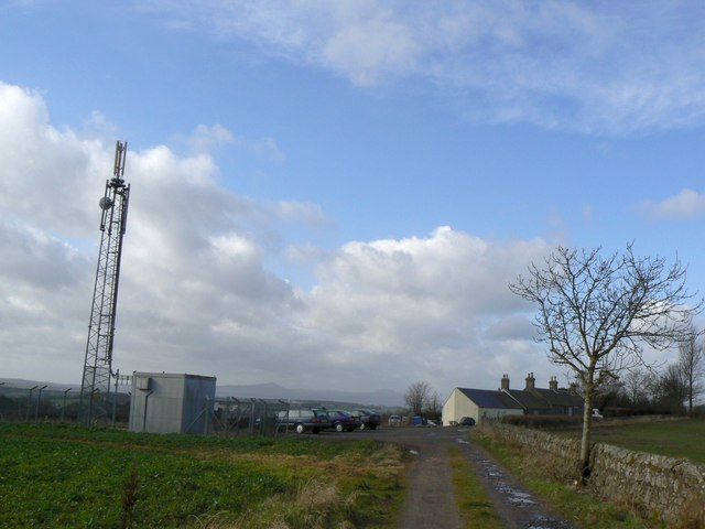 Hawklaw radio mast