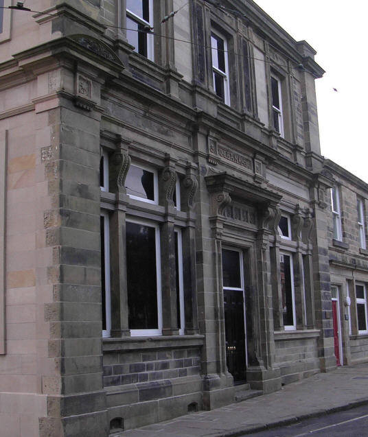 Crich - Former Bank rebuilt at the Museum