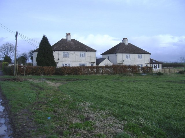 Houses near Bupton Hill farm