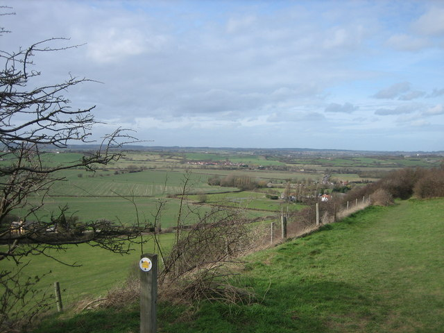 From Sharpenhoe Clappers towards Harlington