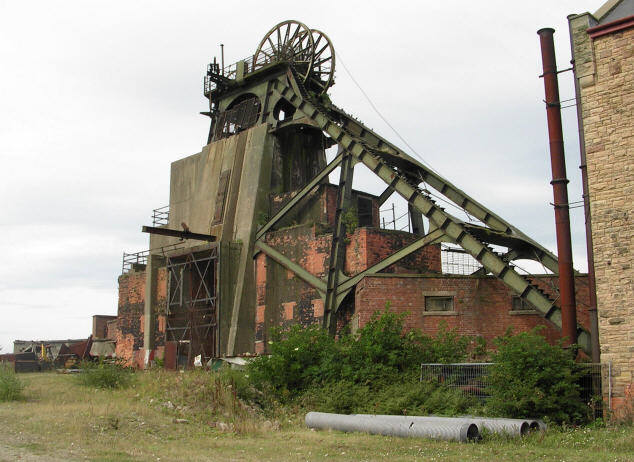 Pleasley Colliery - South Shaft