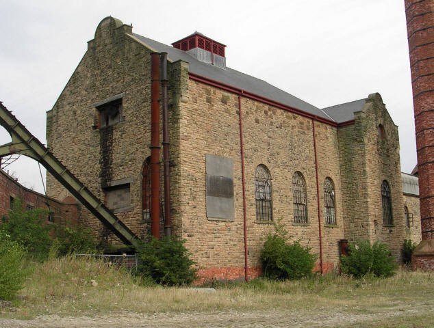 Pleasley Colliery - Winding Engine House