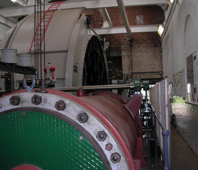 Pleasley Colliery - Winding Engine No 2