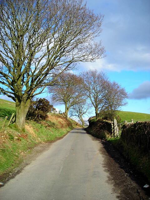 Minor Road Near Kirkton (The Nick)