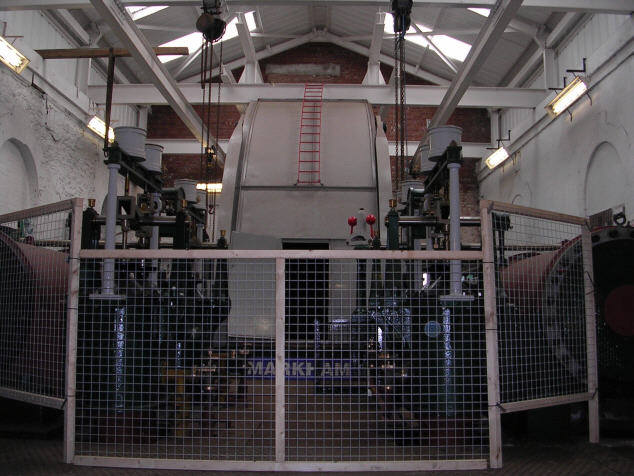 Pleasley Colliery - Winding Engine No 3