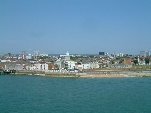 Old Portsmouth seafront