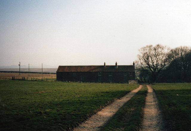Old YHA Youth Hostel at Birdsall Brow, East Yorkshire
