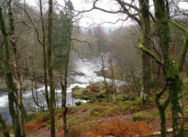 Skelwith Force looking east