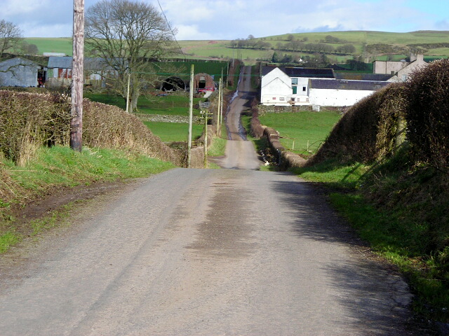 Minor Road at Drumbreg