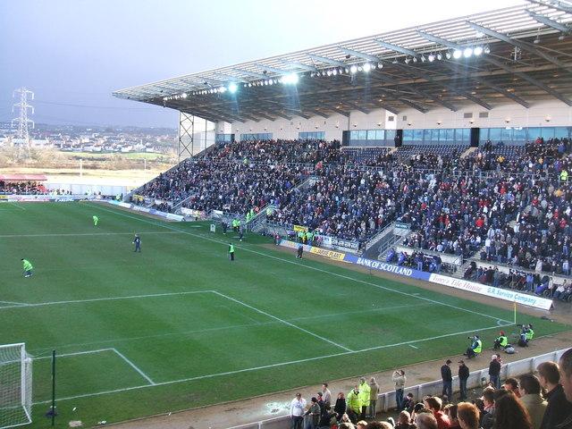 Falkirk Stadium - main stand