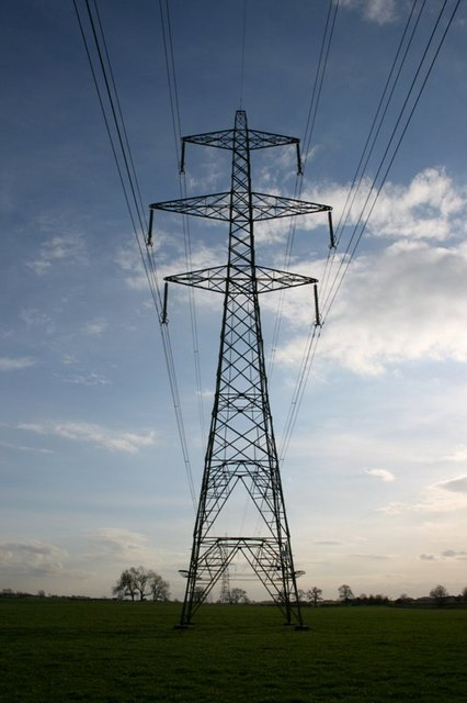 Transmission Tower, Near Carrbridge Farm