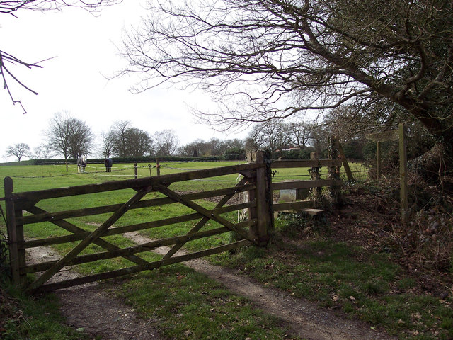 Footpath to Frogham from Blissford