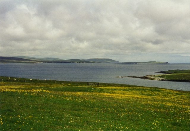 Meadowland at Muness, Unst