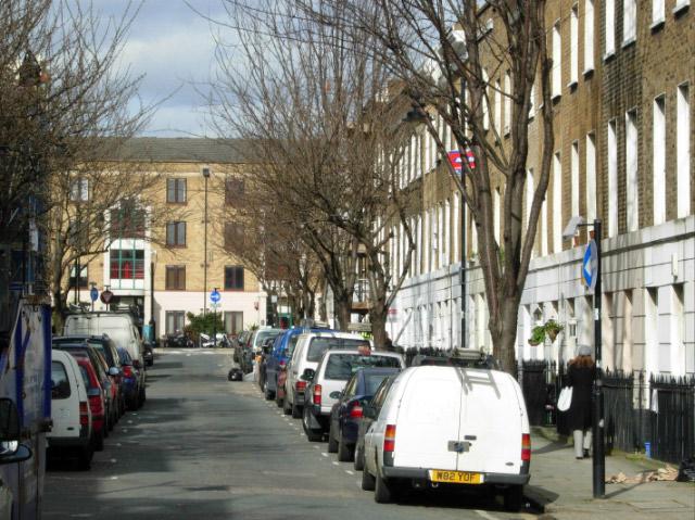 Balfe Street, King's Cross