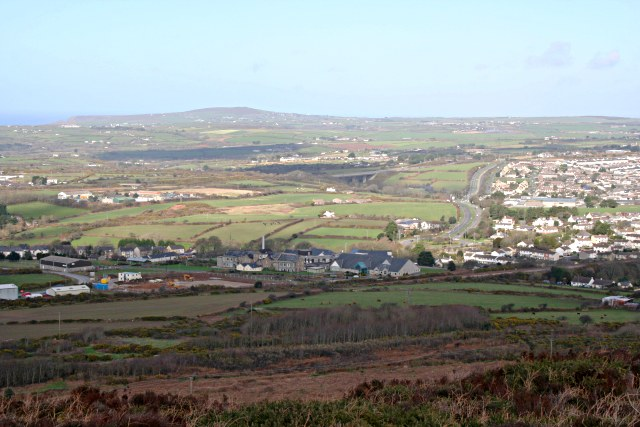 The View from Carn Brea