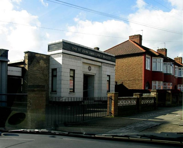 St Johns Ambulance Stockton Road, London N18