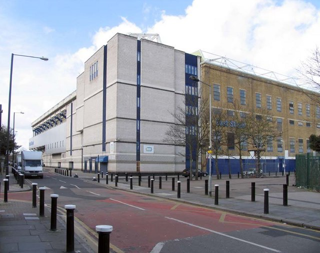 Tottenham Football Ground, Park Lane, London N17