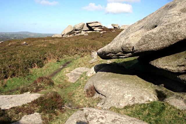 On the Western Summit of Carn Brea