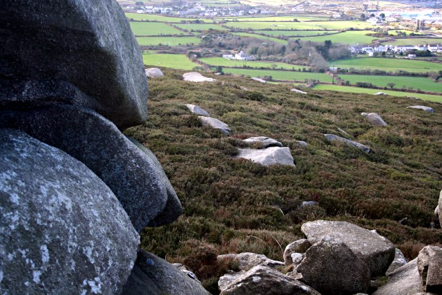 The Western Shoulder of Carn Brea