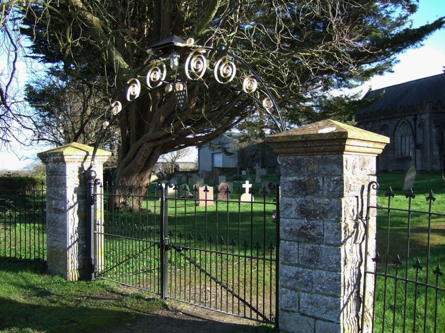 Gateway to All Saints church, Curry Mallet