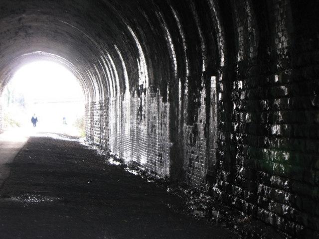 Tunnel under Halifax Road Liversedge.