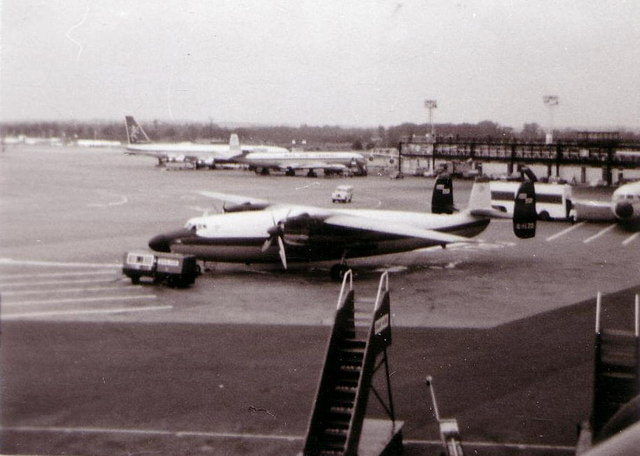 Gatwick Airport in 1970