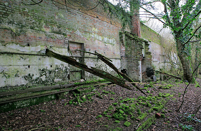 Walled Enclosure south of Stratton House