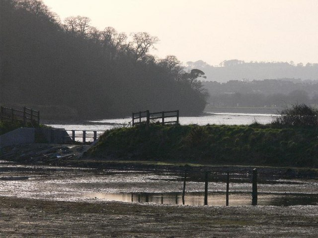View down the Plym at Saltram