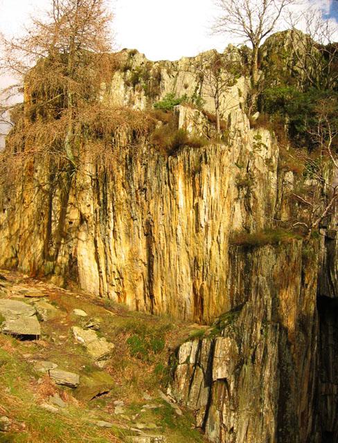 Disused quarry, Low Tilberthwaite