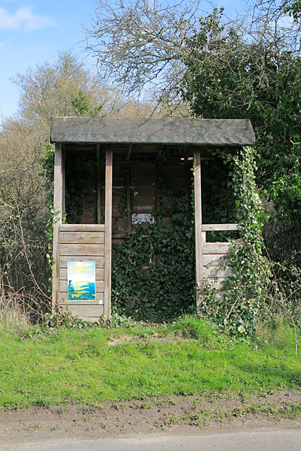 Bus Shelter, East Stratton