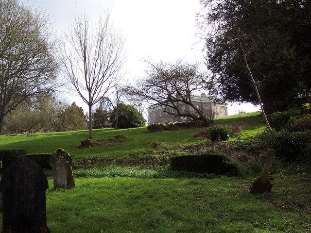 Hale House from St Marys Churchyard