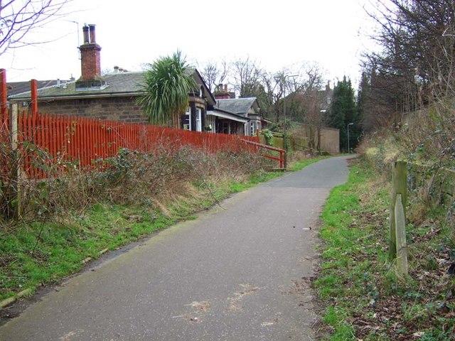 Trinity & Newhaven Railway Station