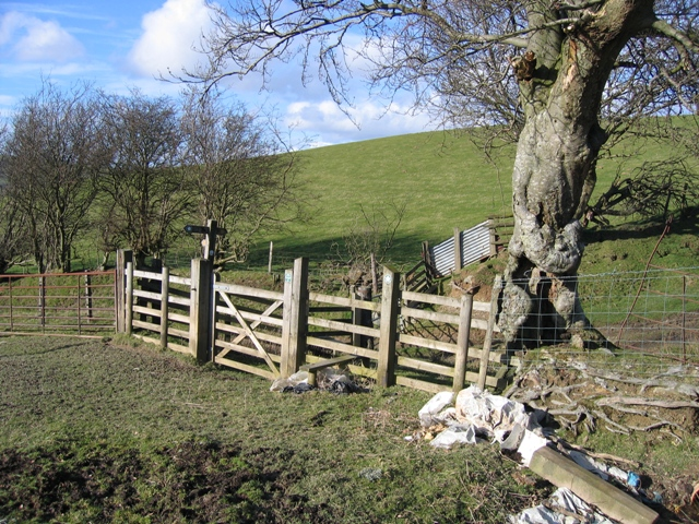 New Stile and Gate on the Clwydian Way