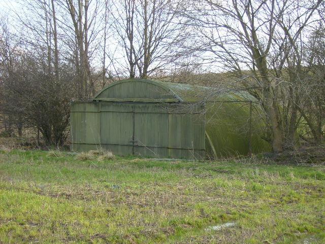Nissen Hut near Coxwold