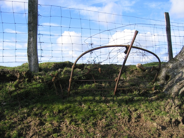 Iron Bedstead and Fence