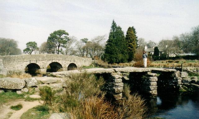 The Postbridge 'clapper'