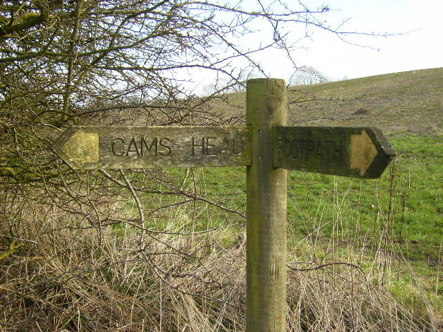 Fingerpost near Coxwold