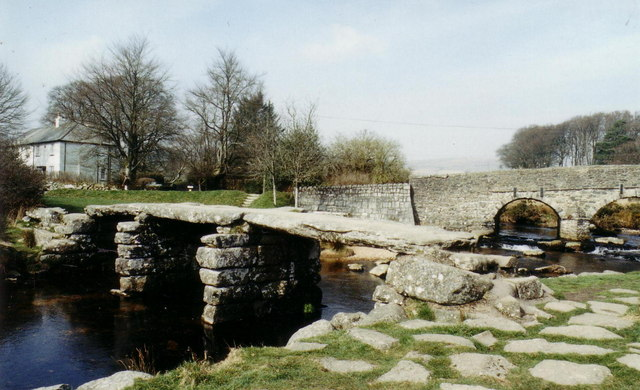 The Postbridge 'clapper'