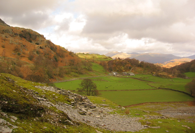 Tilberthwaite valley