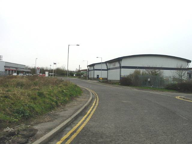 Industrial estate at Whitfield