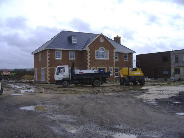 New house, Wootton Meadows