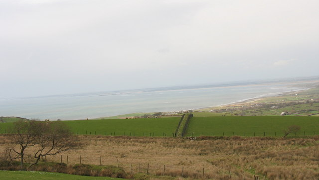 Farm boundary between Maesog and Bryn Ifan