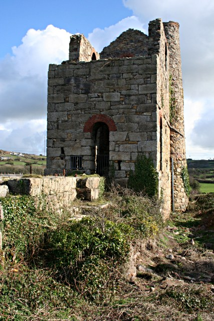The Man Engine House at South Tincroft Mine