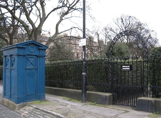 Drummond Place Police Box