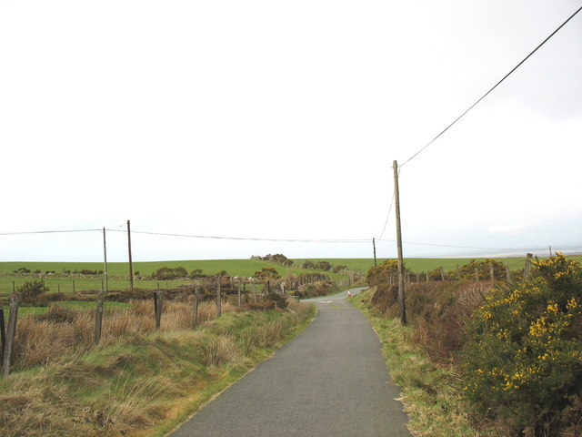 The Cors-y-wlad junction