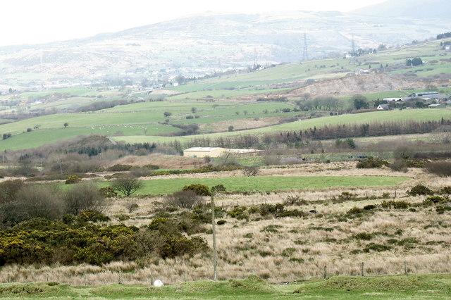 The Gwynedd County Council Recycling Centre, Llwyngwnadl Isaf
